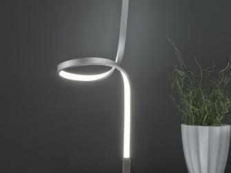 [Webshop] Tafellamp Tracey, krul LED - Gratis bezorging!