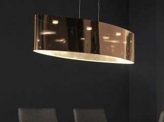 [Webshop] Hanglamp Noriko, LED, kleur Koper