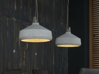 [Webshop] Dubbele Hanglamp Denny beton - Gratis bezorging!
