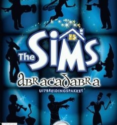The Sims Abracadabra uitbreidingspakket PC cd-rom