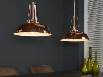 [Webshop] Dubbele Hanglamp Joleen, kleur koper