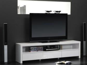 [Webshop] TV-meubel Teisha, kleur hoogglans wit