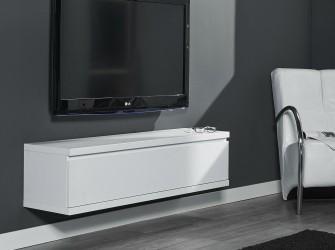 [Webshop] Hangend TV-meubel Darrick, kleur wit