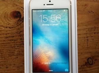 Hele nette iPhone 5S 16Gb goud met garantie