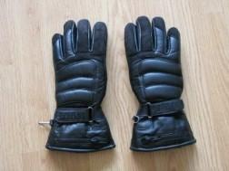dames motor handschoen  maat es