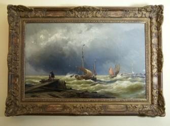 Zeegezicht van J.H.B. Koekkoek 1840-1912