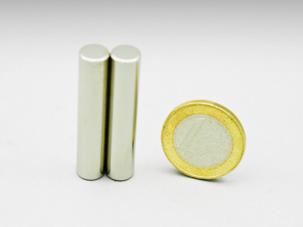 Magneet staven, STAAFMAGNEET 8x40mm