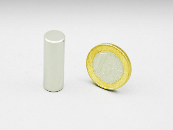 Magneet (staaf) houdkracht 4,0KG N48, neodymium