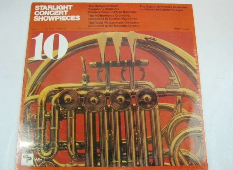 LP Carmen Dragon-The Capitol Symphony Orchestra,jr 50,NIEUW…