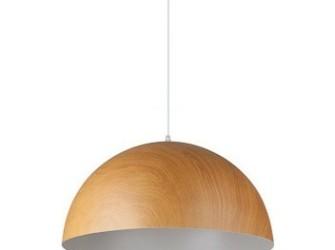[Webshop] Linea Verdace Hanglamp Cupula Wood 50cm in 2 kleu…