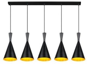 [Webshop] Linea Verdace Hanglamp Clessidra 5-lamps, kleur z…