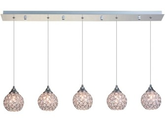 [Webshop] Linea Verdace Hanglamp Treasure 5-lamps, met K9 K…