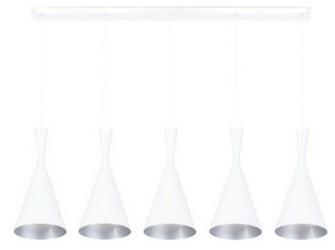 [Webshop] Linea Verdace Hanglamp Clessidra 5-lamps, kleur w…