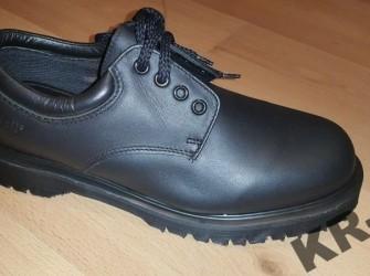 Dr.Martens Royal Mail Werkschoenen UNISEX, zwart, leer