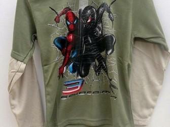 Partij Spiderman kinder t-shirt