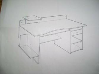mooie computertafel