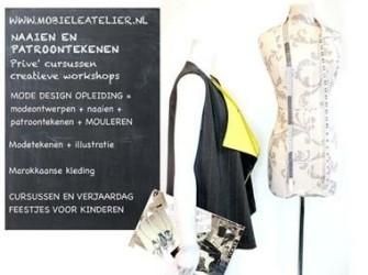 Cursus naaien en patroontekenen in Rotterdam