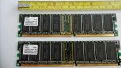 2 st. Geheugenbankje 256Mb DDR PC2700