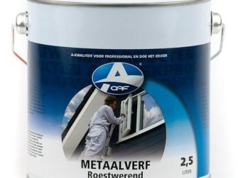 Metaalverf wit 2,5 ltr