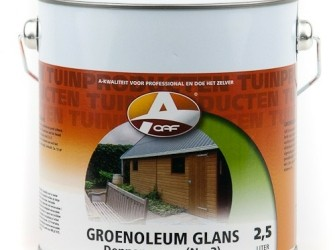 Groenoleum glans Dennengroen No.3 750 ml
