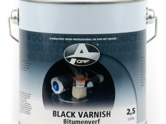 black varnish stdv 2½ltr