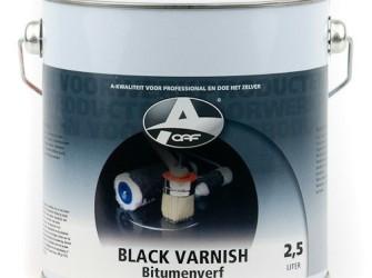 black varnish stdv 1ltr