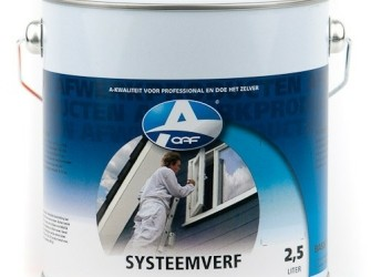 Systeemverf Creme-wit 750 ml