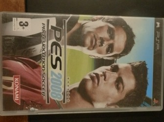 Psp game PES 2008