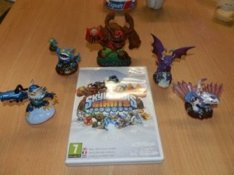 Skylander Giant spel en giants 5 stuks