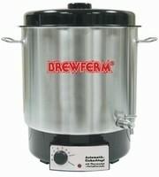 Brouwketel elektrisch van Brewferm