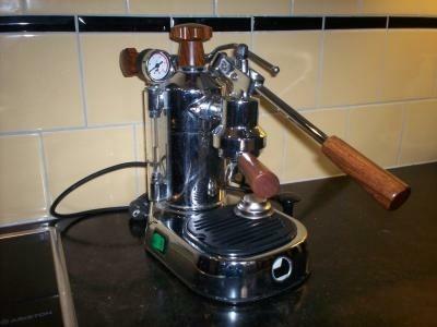 RVS Pavioni Espresso apparaat
