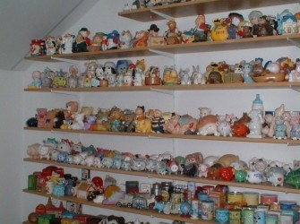 Verzameling spaarpotten