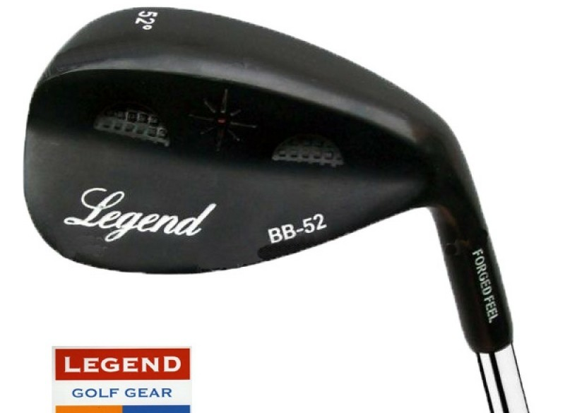 Legend Forged Feel Black Wedge - 52* of 56*