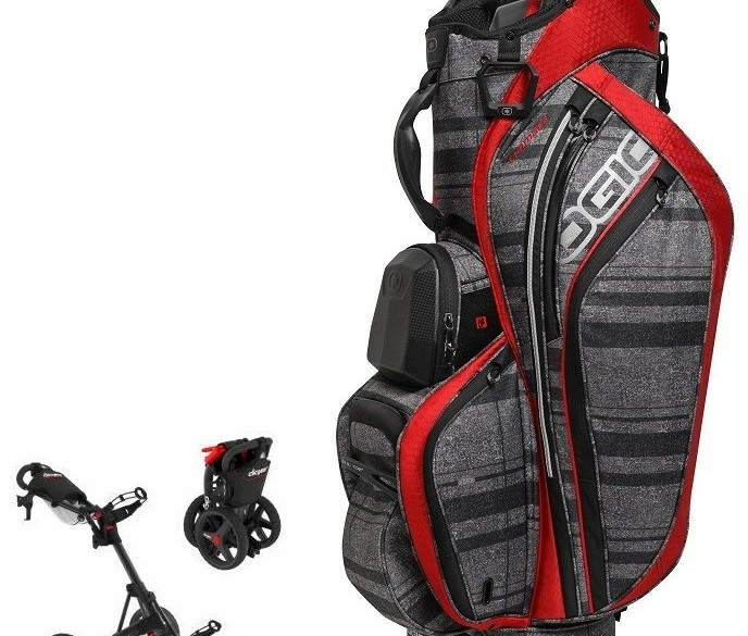 SUPERAANBIEDING Clicgear 3.5 + Ogio Chambers - Black/Red