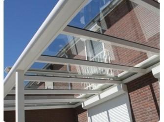 GLASVERANDA 400x350 cm € 2475 overkapping glas