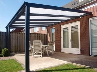 Overkapping 400x350 cm € 950 euro veranda