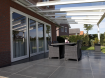 Glasdak veranda 400x400 cm € 3050 overkapping glas