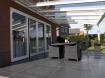 Glasdak veranda 600x400 cm € 4225 overkapping