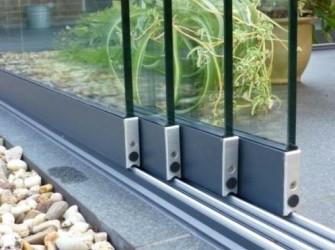 Glas schuifwand vanaf € 175 euro per paneel