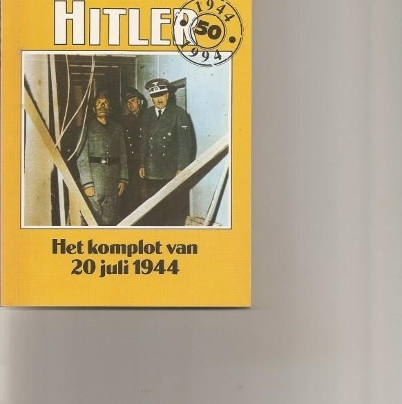 de aanslag op hitler/Roger Manvell