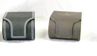 4 horlogeboxen,NIEUW, 3 x S.Oliver,3 zwart/1 bruin,kunstlee…