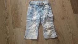 Nieuw blauw witte broek PAMPOLINA mt 116