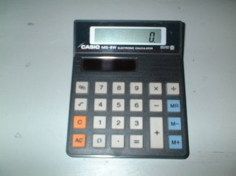 Casio Electronic Calculator