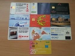 10 verschillende telefoonkaarten