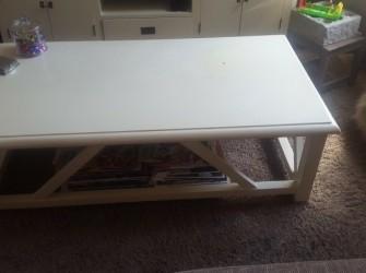 Gebroken wit salontafel