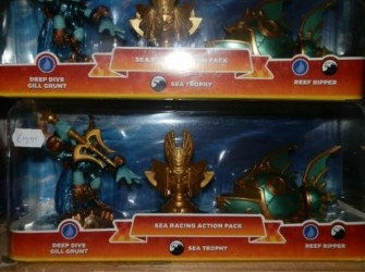 Skylander superchargers sea racing action pack