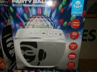 I dance party ball bluetooth