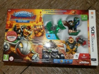 Skylanders superchargers racing nintendo 3DS