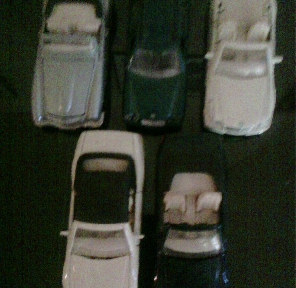 Modelautootjes merk Mercedes