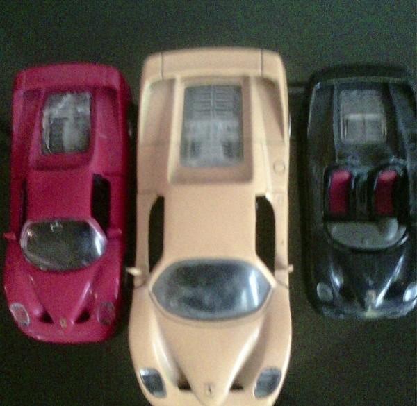 Modelautootjes merk Ferrari